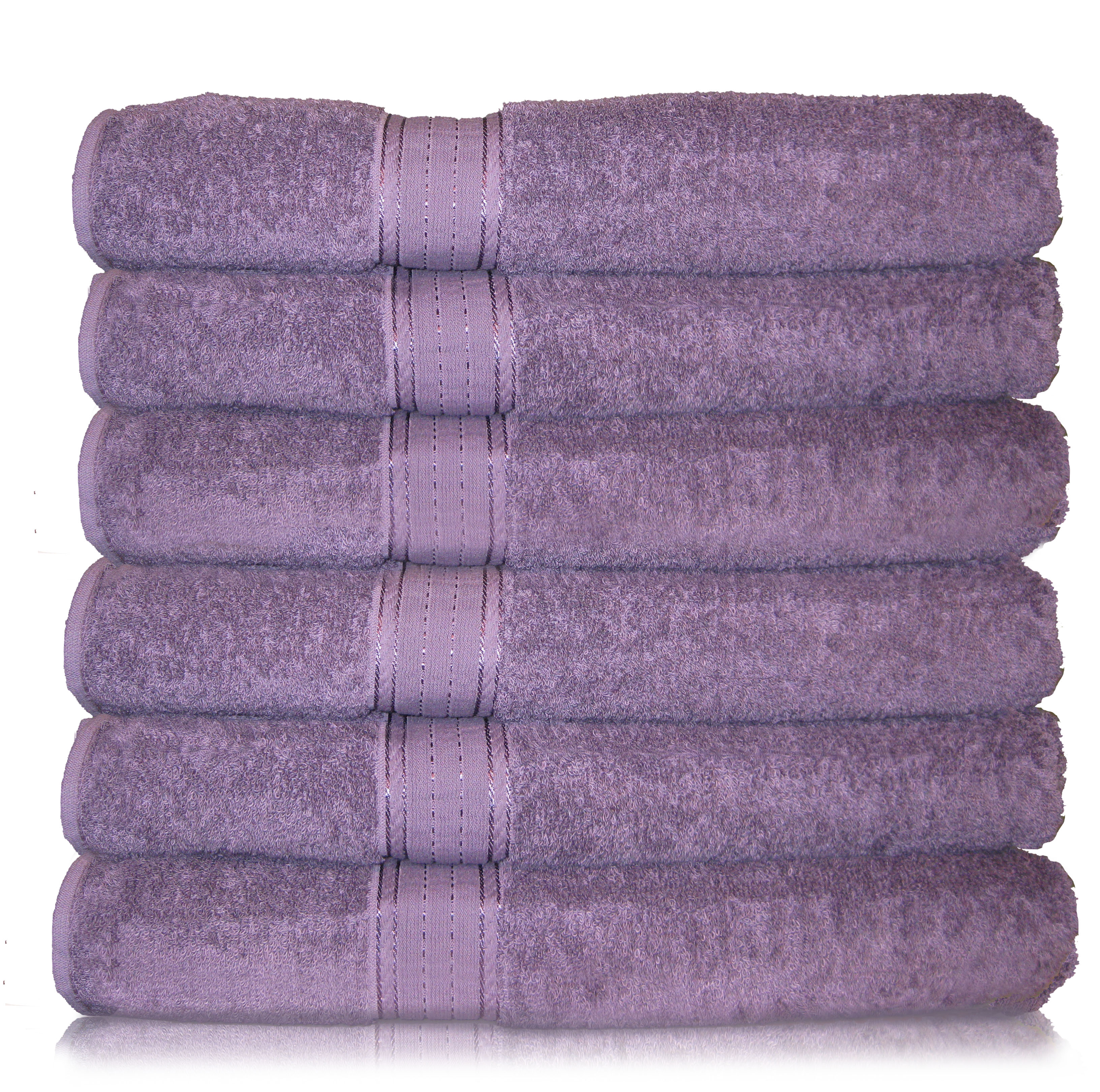 Purple bathroom towels bath sheets plush soft 100 luxurious egyptian